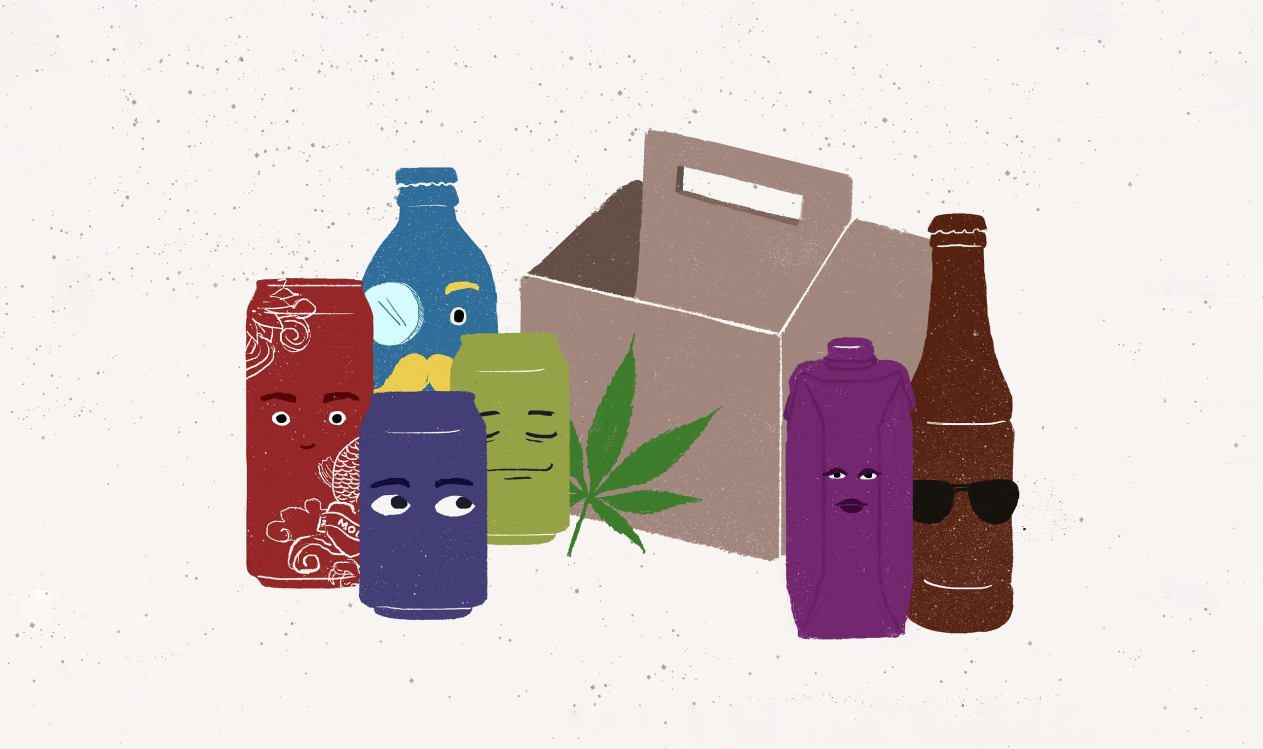 A Six Pack of Beverage Marketing Trends